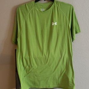 Medium Under Armour Lime Green T-shirt